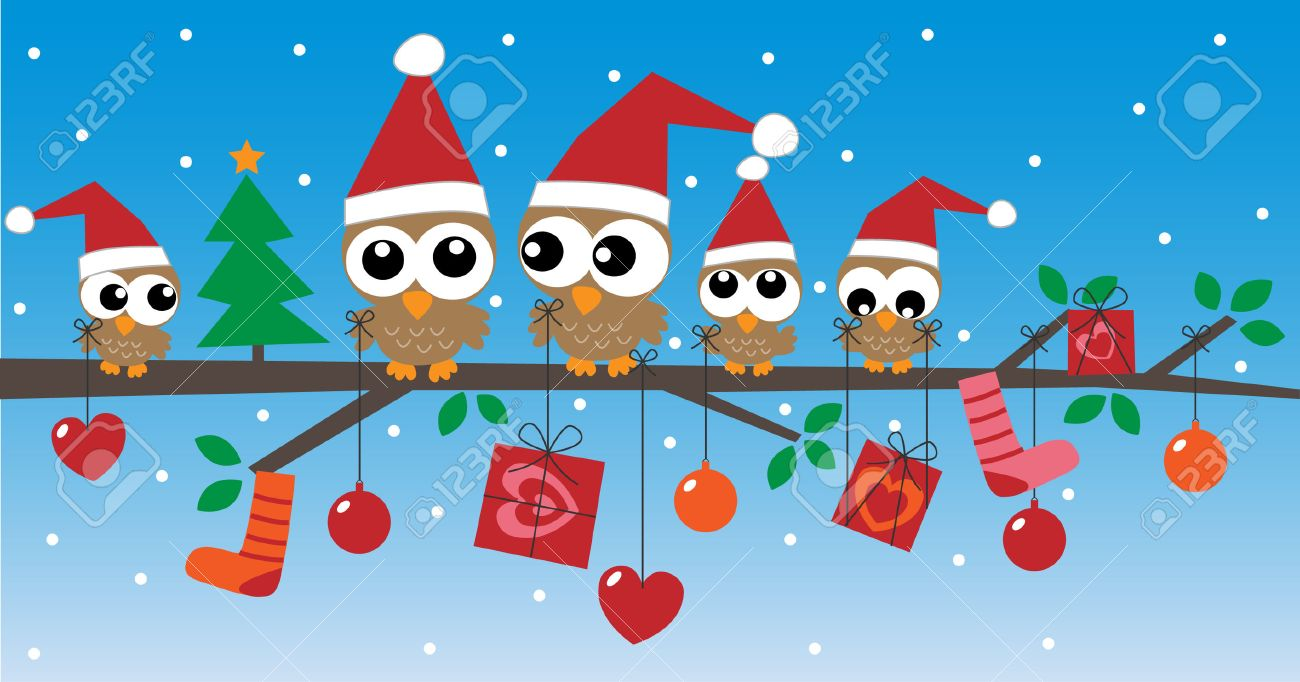 Merry Christmas Happy Holidays Header Or Banner Royalty Free ...