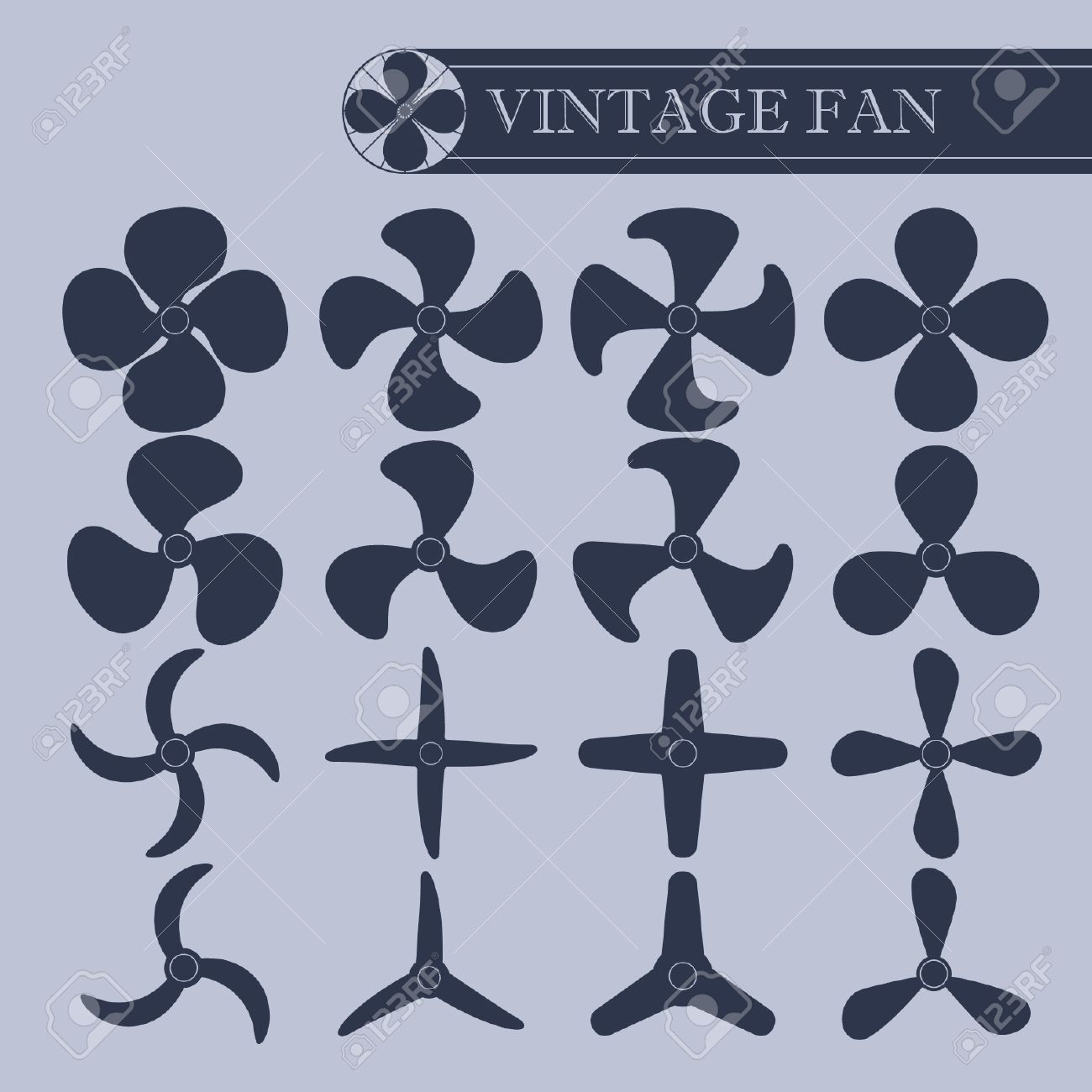 Vintage Fan vintage fan part royalty free cliparts, vectors, and stock