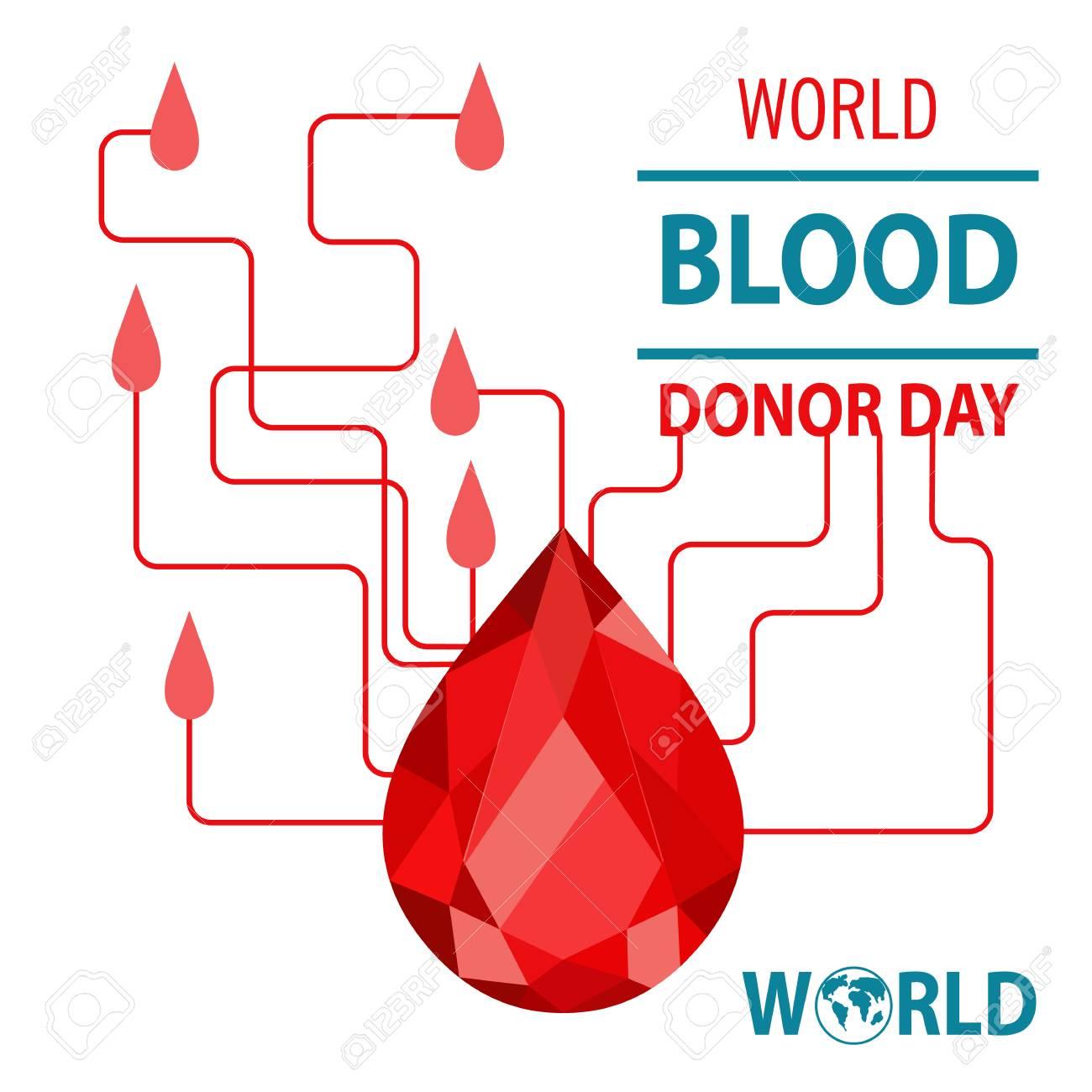 donar sangre concepto