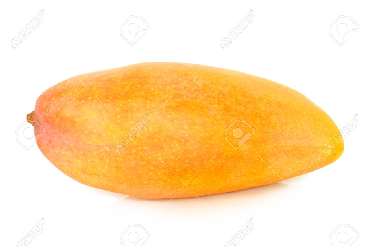 Mango on a white background Stock Photo - 23283378