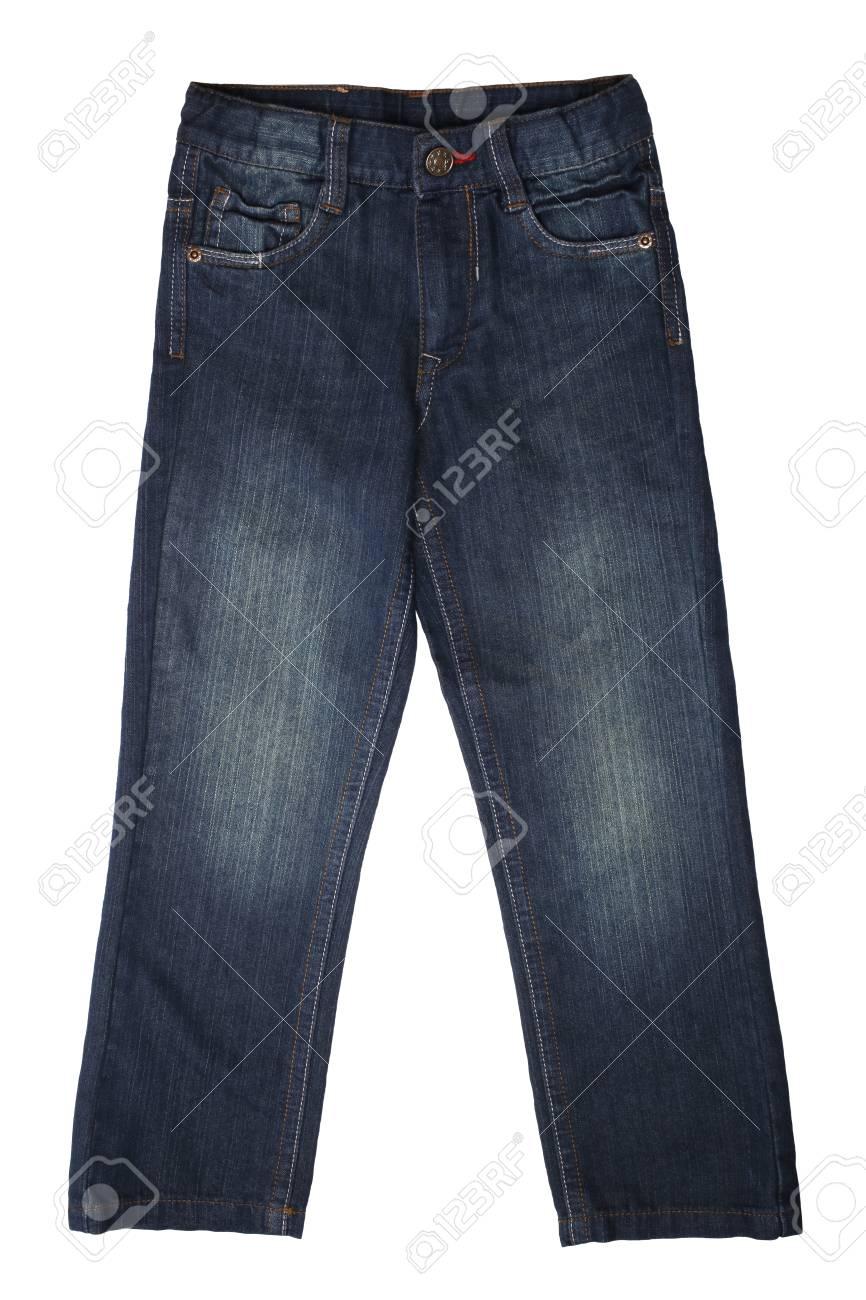 venta caliente online 5f8f7 c2ec2 Desgaste de los niños - pantalones vaqueros aislados en el fondo blanco