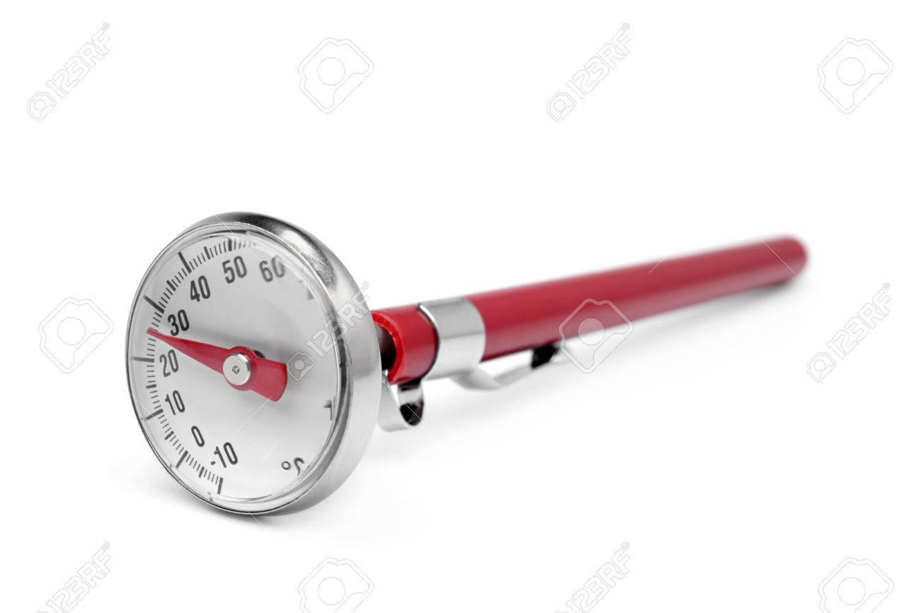 Termometro De Cocina En El Fondo Blanco Fotos Retratos Imagenes Y Fotografia De Archivo Libres De Derecho Image 39816734 Termometro digital timer temporizador cocina carnes bebidas. termometro de cocina en el fondo blanco