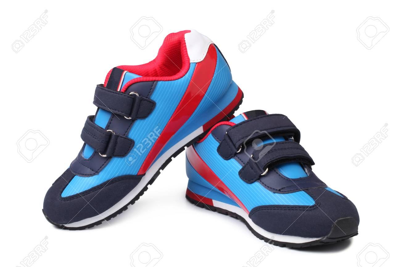 Bébé D'images Sur Sport Banque Fond Blanc De Chaussures Paire Et qwTp4rq