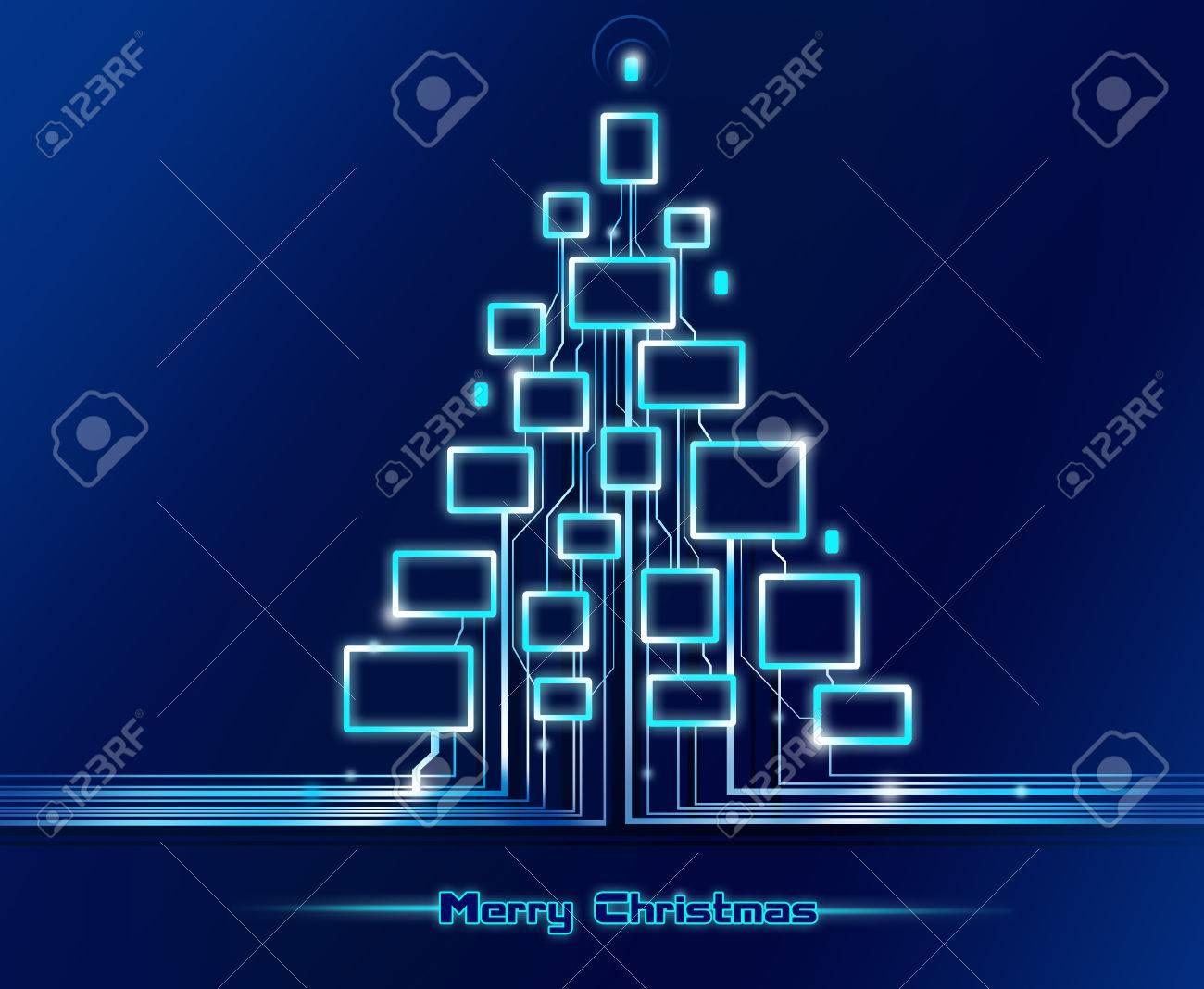 Joyeux Noel Techno.Joyeux Noel Techno Fond Bleu