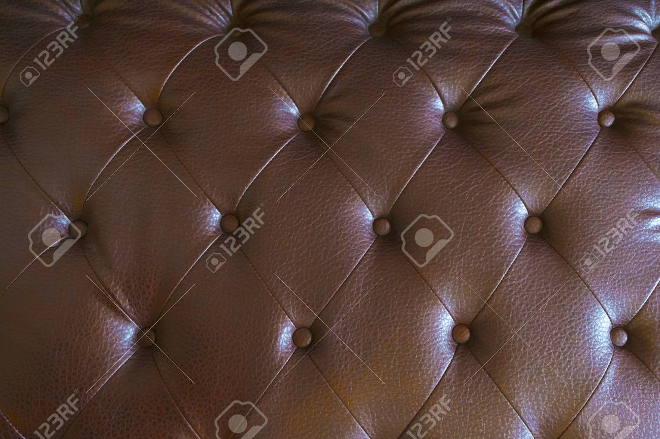 Luxury Brown Leather Sofa Texture