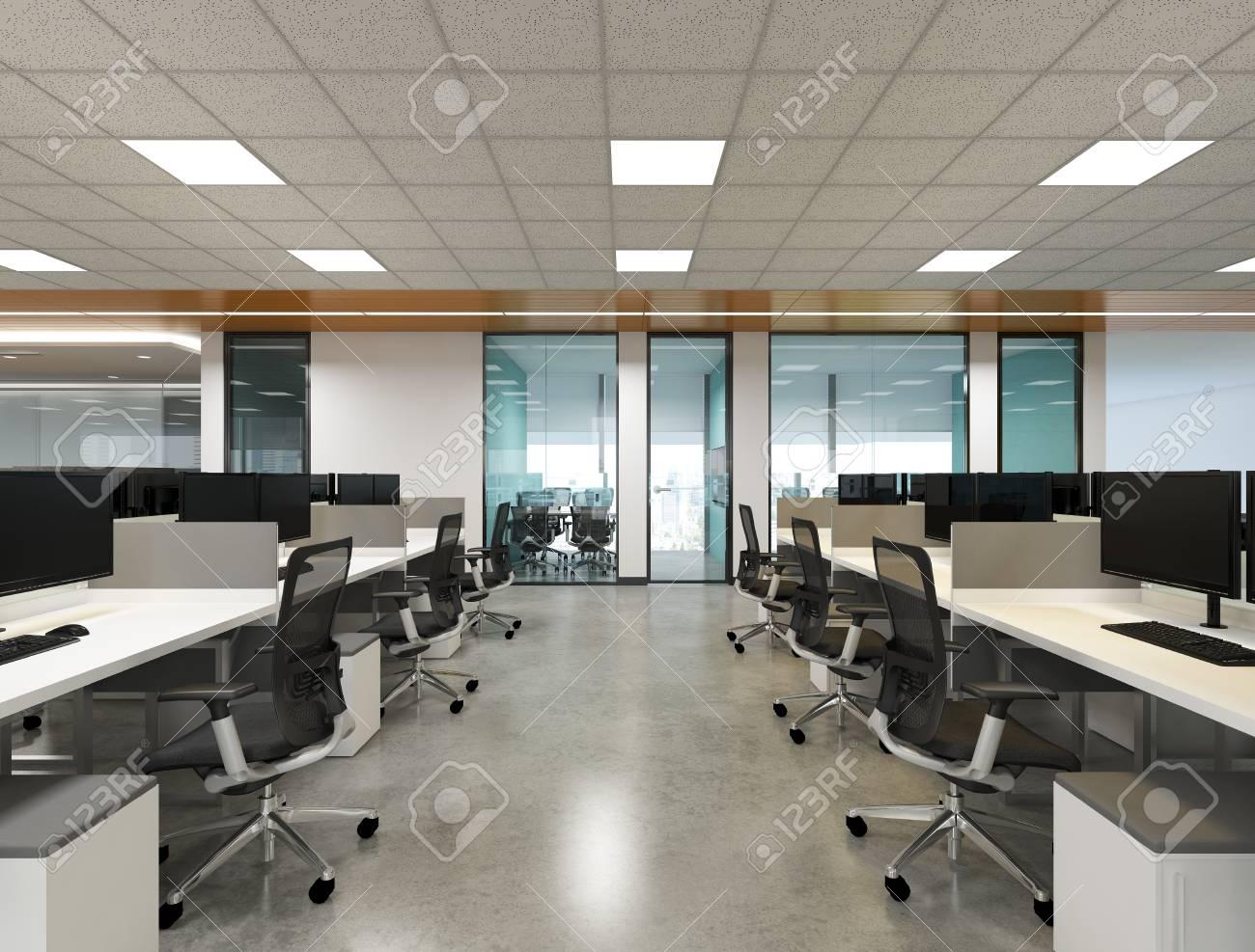 Le concept de bureau de style intérieur salle de réunion petite zone