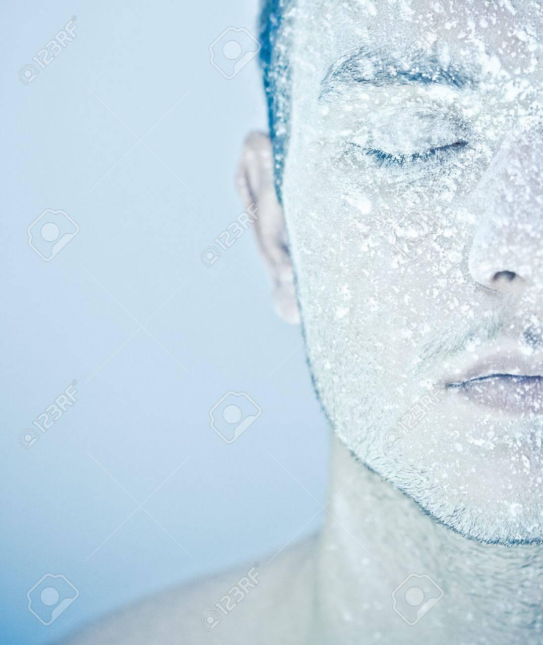 frozen man Stock Photo - 11322232