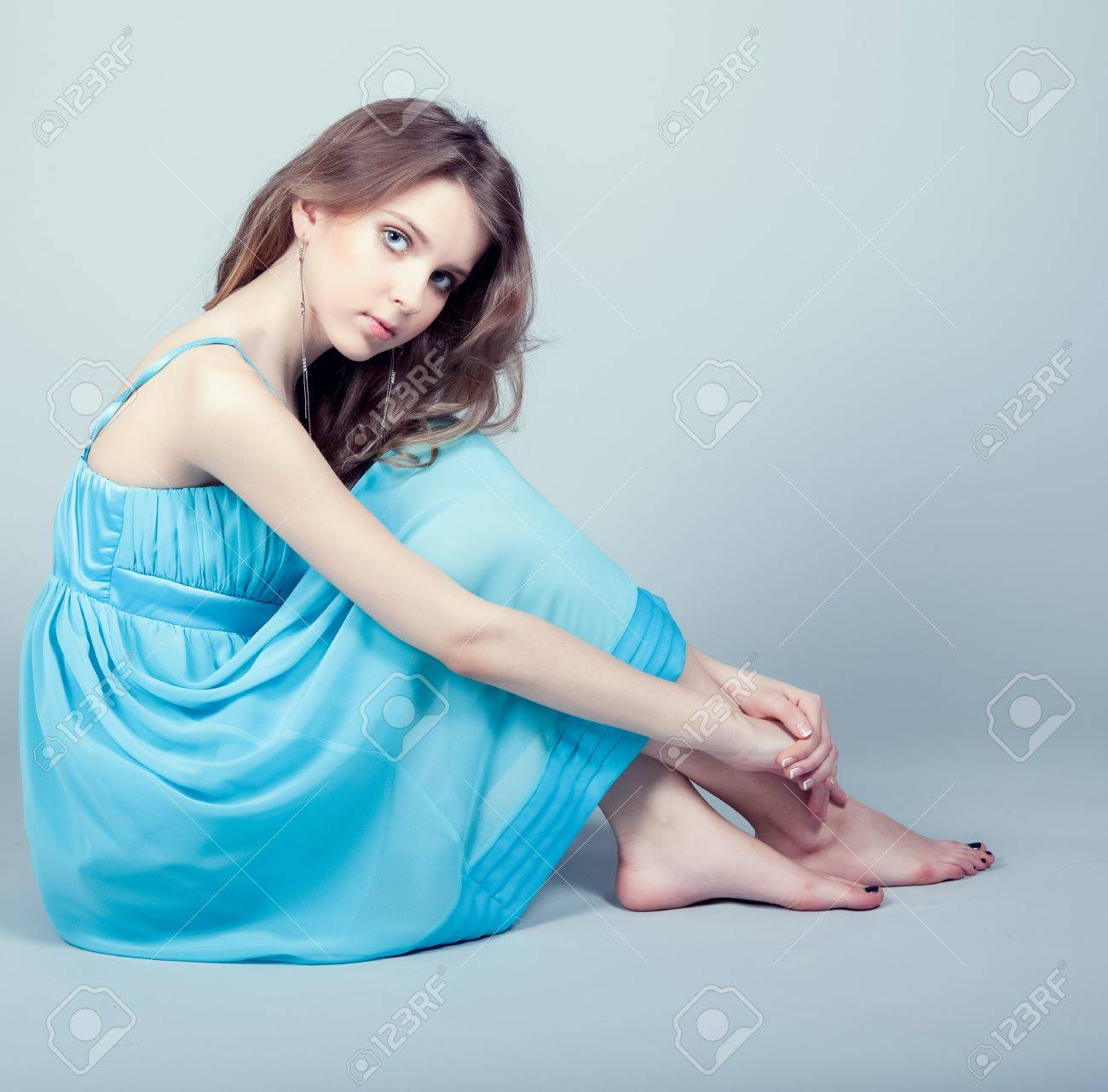 Pretty young girl Stock Photo - 12980156