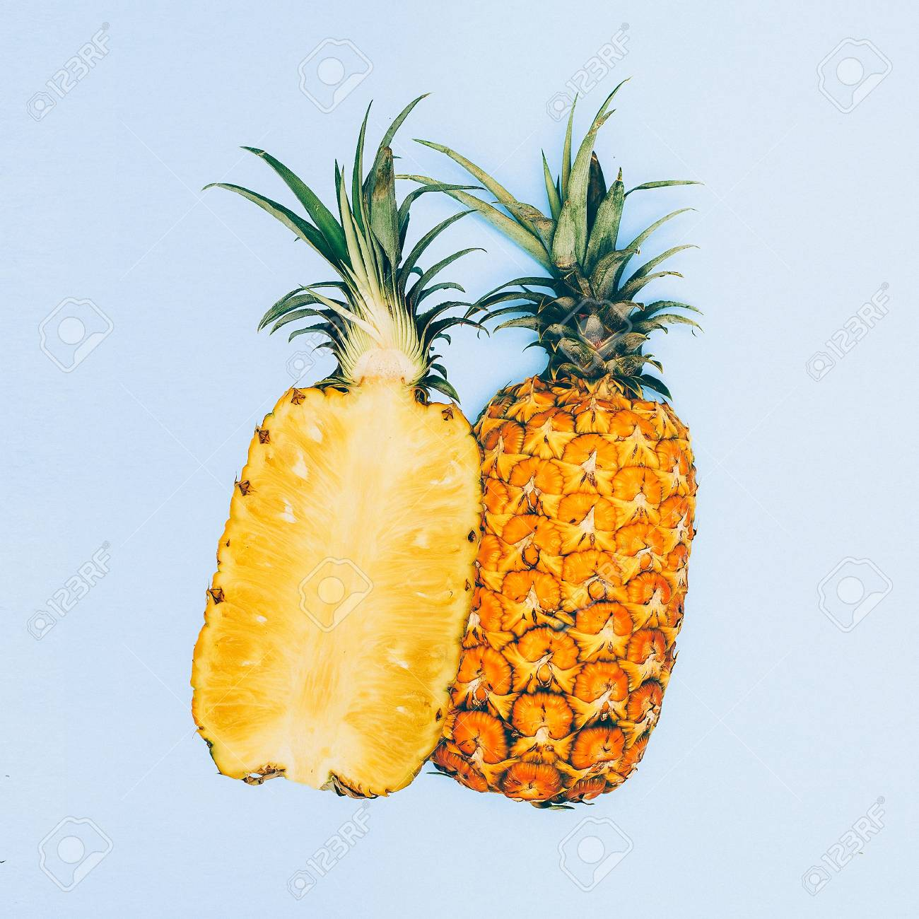 Fashion Design Geometry Minimal Art Fruit Pineapple Stock Photo Picture And Royalty Free Image Image 77224652