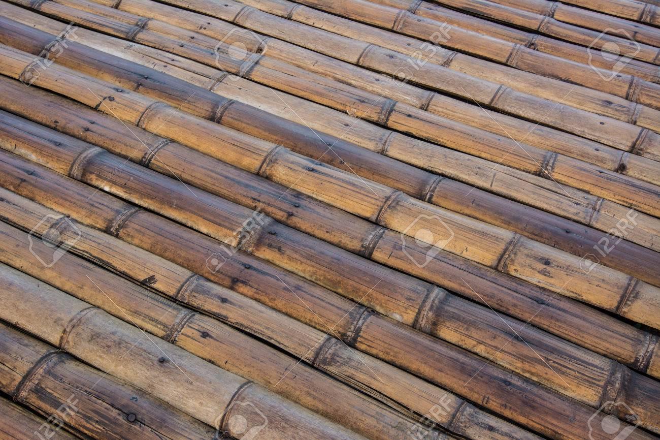 Pavimento In Bambù Caratteristiche : Full frame di pavimenti in bambù tradizionale la pavimentazione