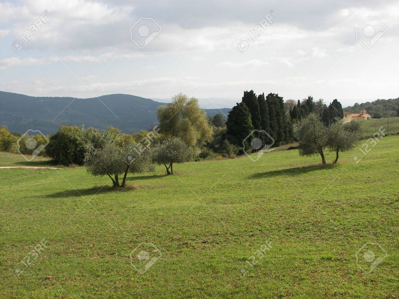 Public park in the North of Florence from central Italy Stock Photo - 3186644