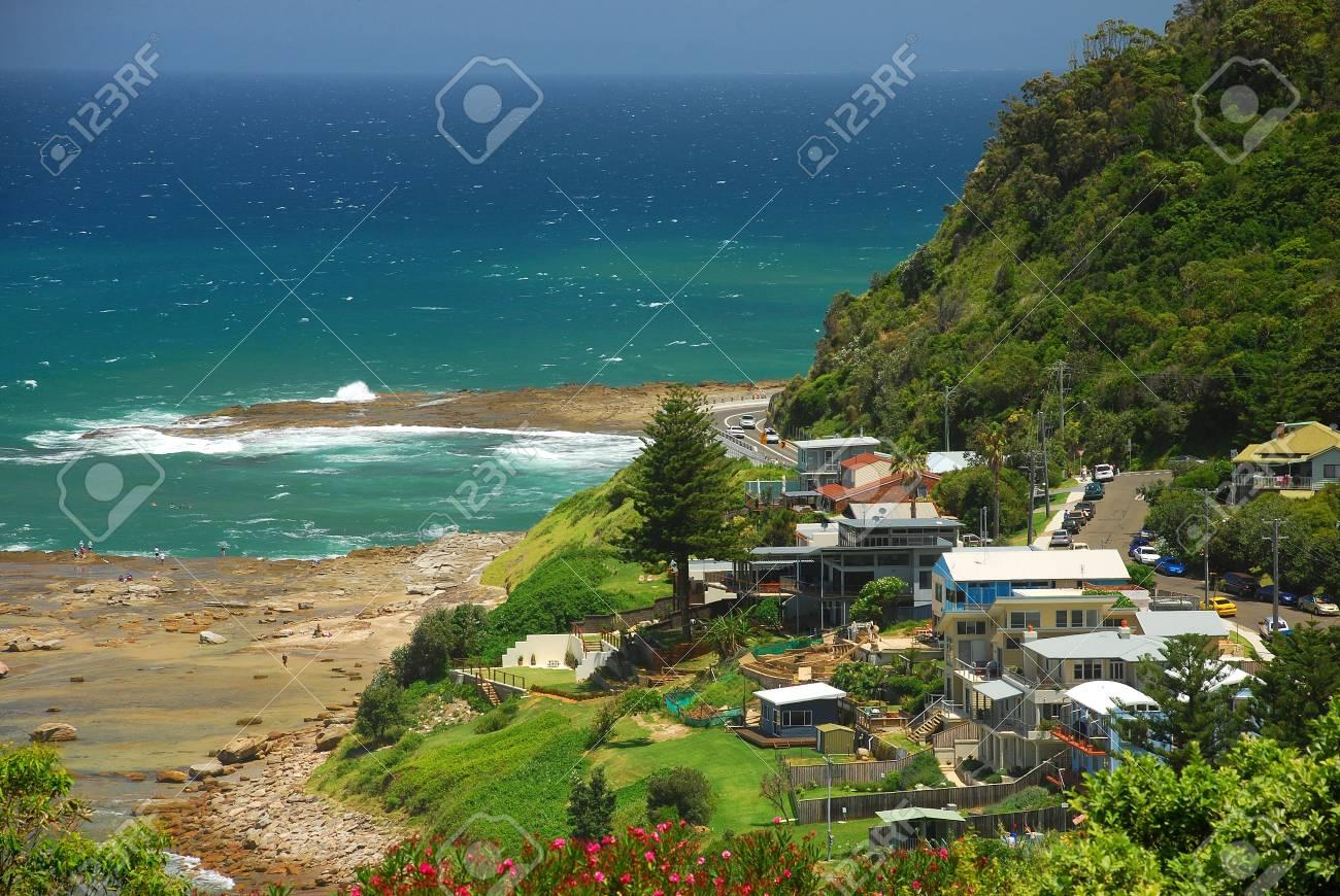 Seaside Village Stock Photo - 3737506