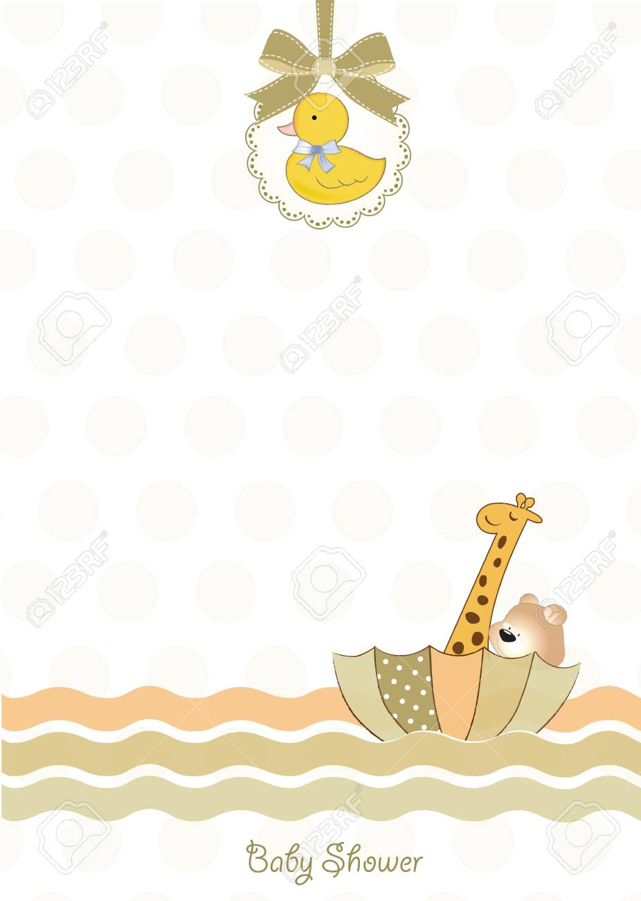 baby shower invitation Stock Vector - 9806538