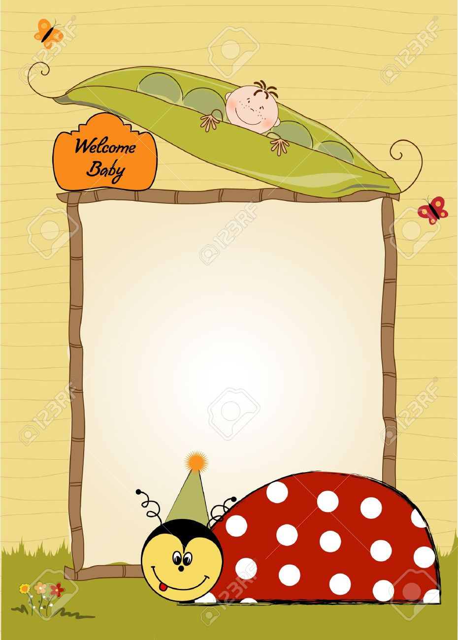 Happy birthday card with ladybug royalty free cliparts vectors happy birthday card with ladybug bookmarktalkfo Image collections