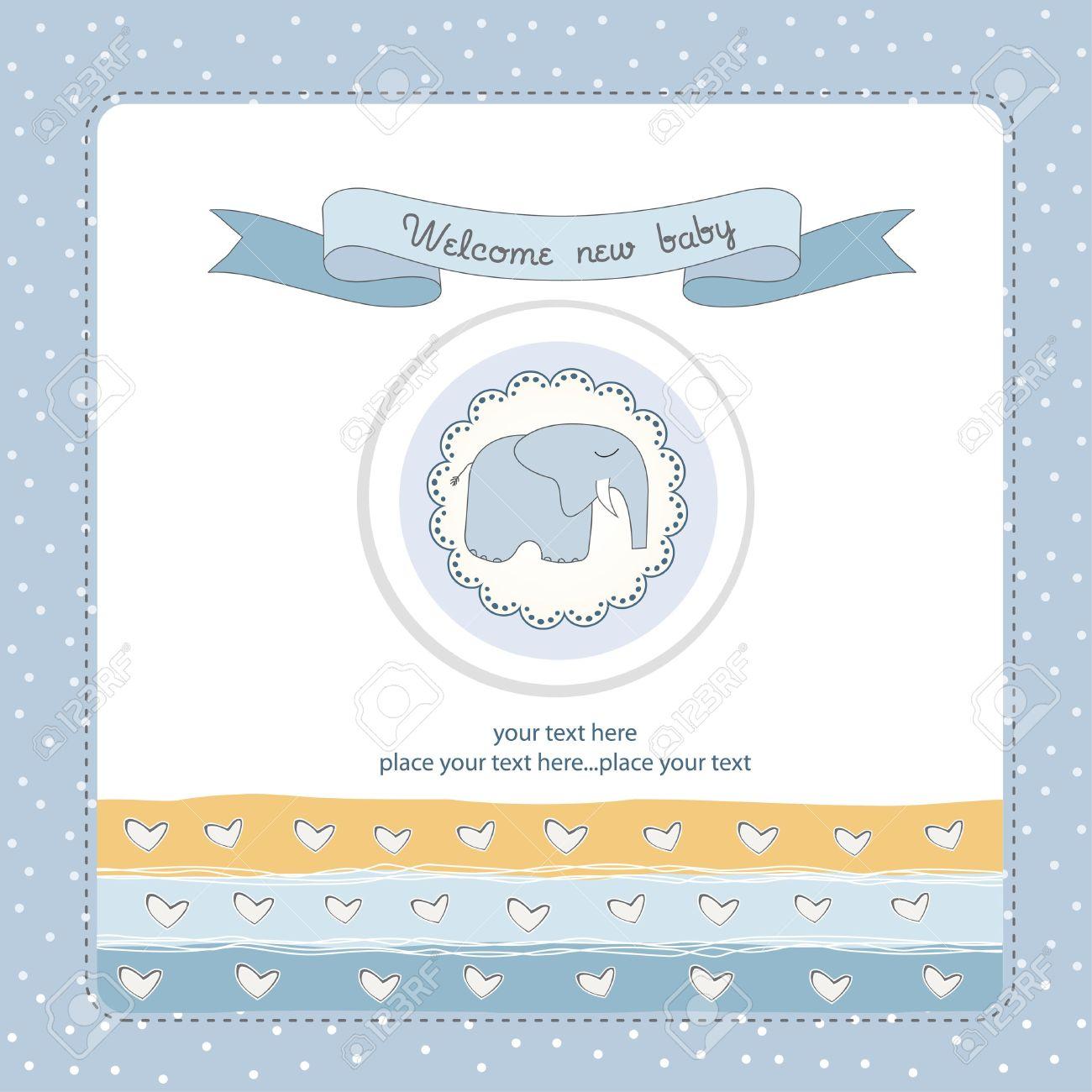 welcome baby Stock Vector - 11154320