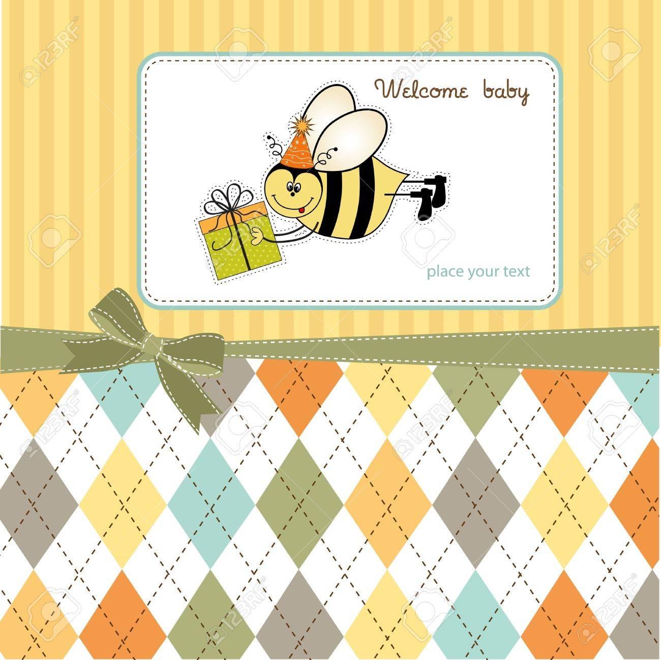 welcome baby Stock Vector - 11154236