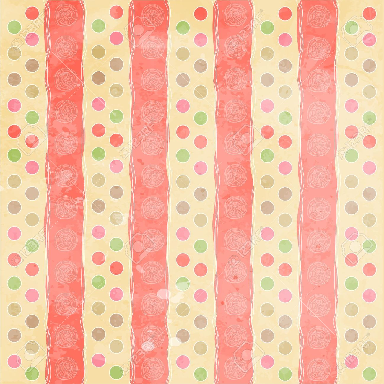 Beautiful and vintage seamless background Stock Vector - 12786887