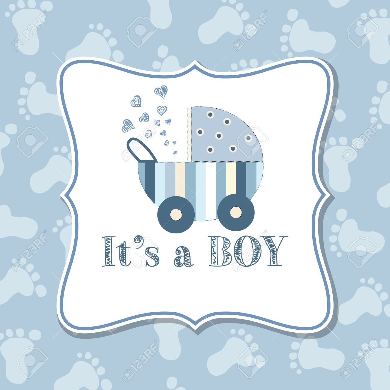Baby boy invitation for baby shower vector format royalty free baby boy invitation for baby shower vector format stock vector 35744119 stopboris Image collections