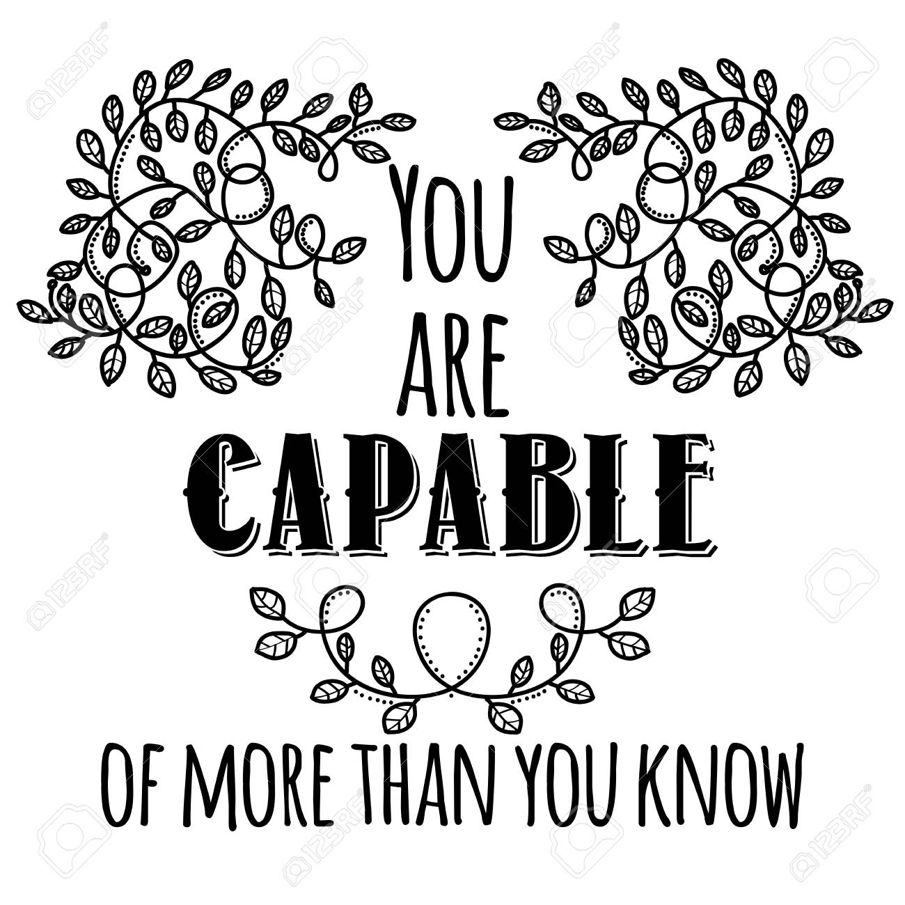 Image result for you are capable clipart