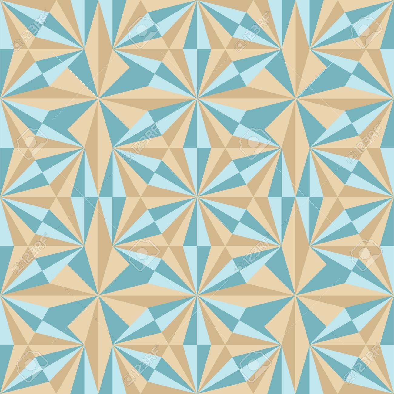 Vintage Retro Ceramic Tile Pattern Set Collection. Antique Retro ...
