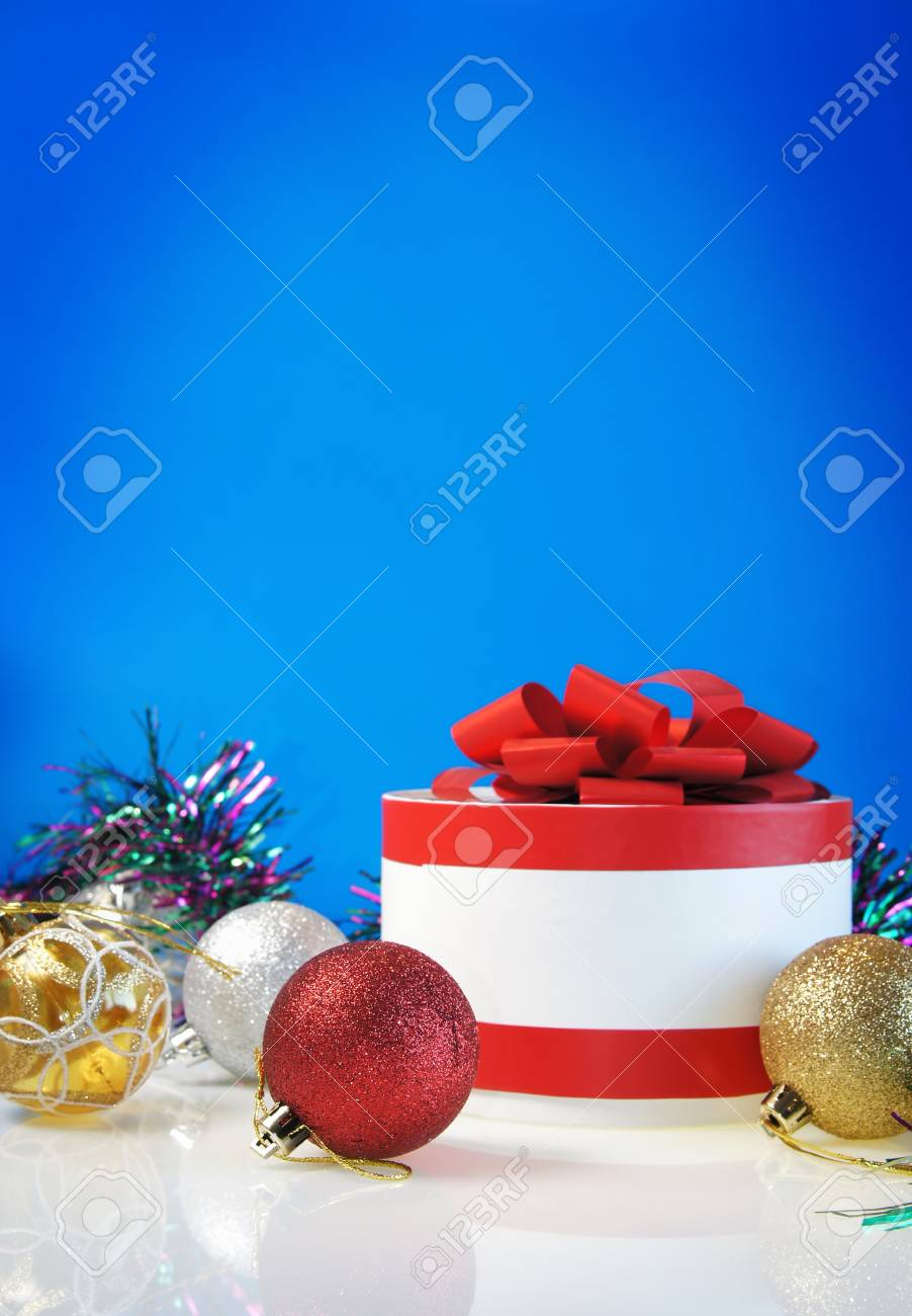 Template for Christmas card Stock Photo - 11235989