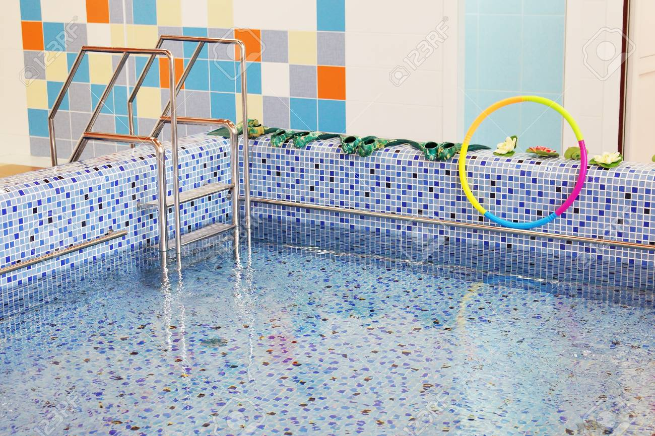 Small swimming pool for children Stock Photo - 17504777