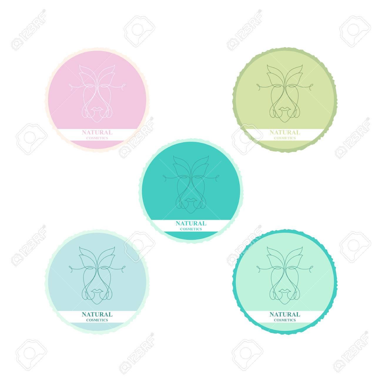 Vector Natural Cosmetics Logo Cosmetics Symbols Symbols For