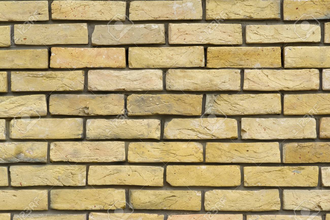 Decorative Brickwork Of Building Or House Exterior Facade Wal ...