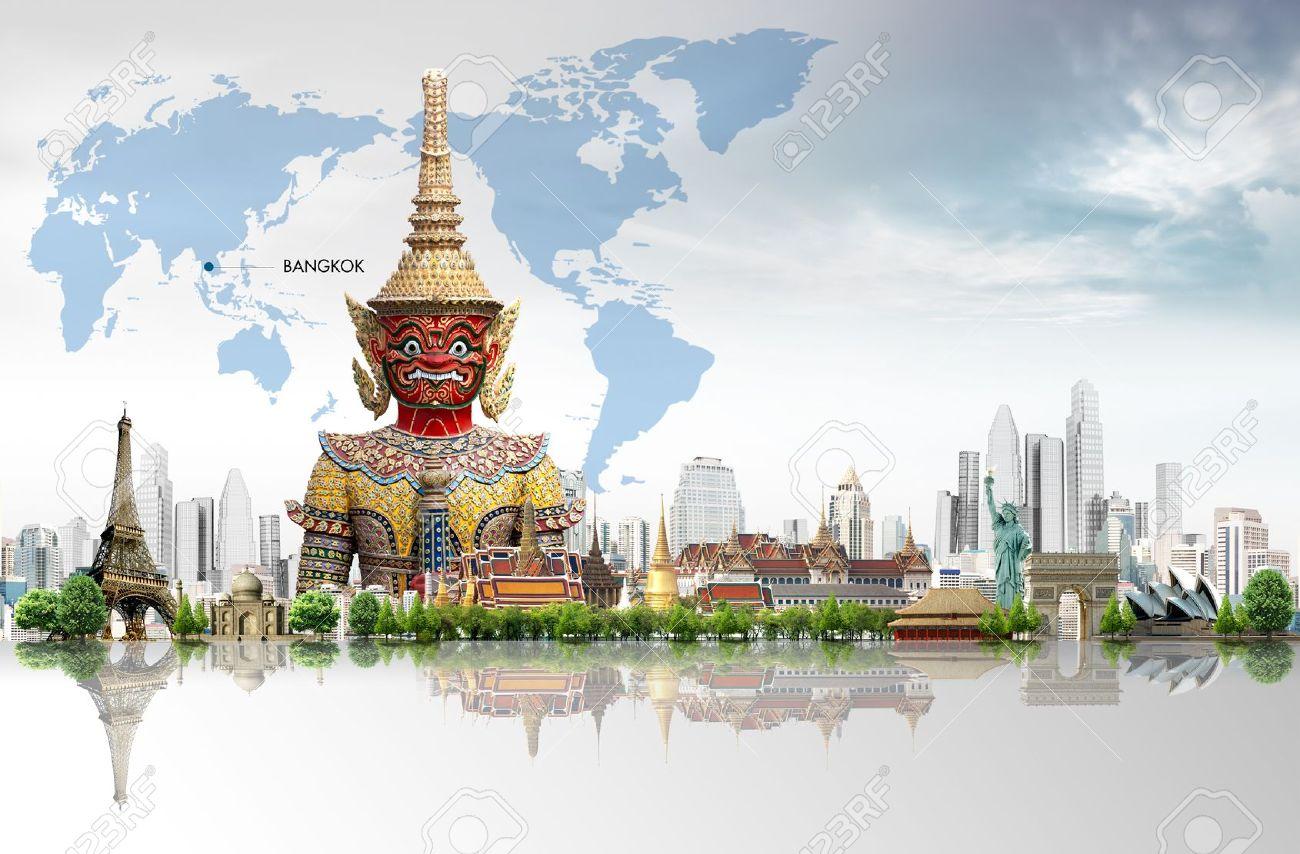 Thailand bangkok travel concept Stock Photo - 15177940