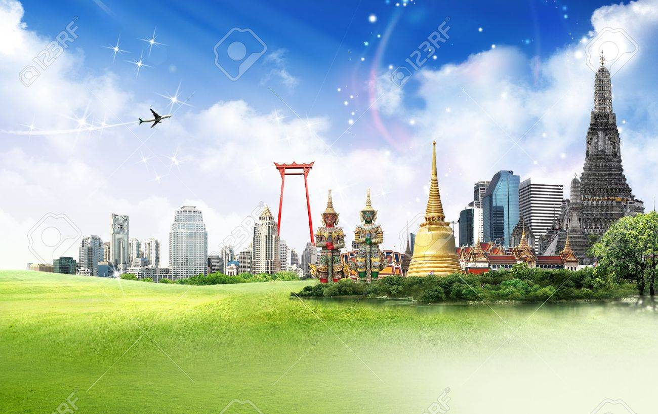 Thailand travel concept Stock Photo - 18488335