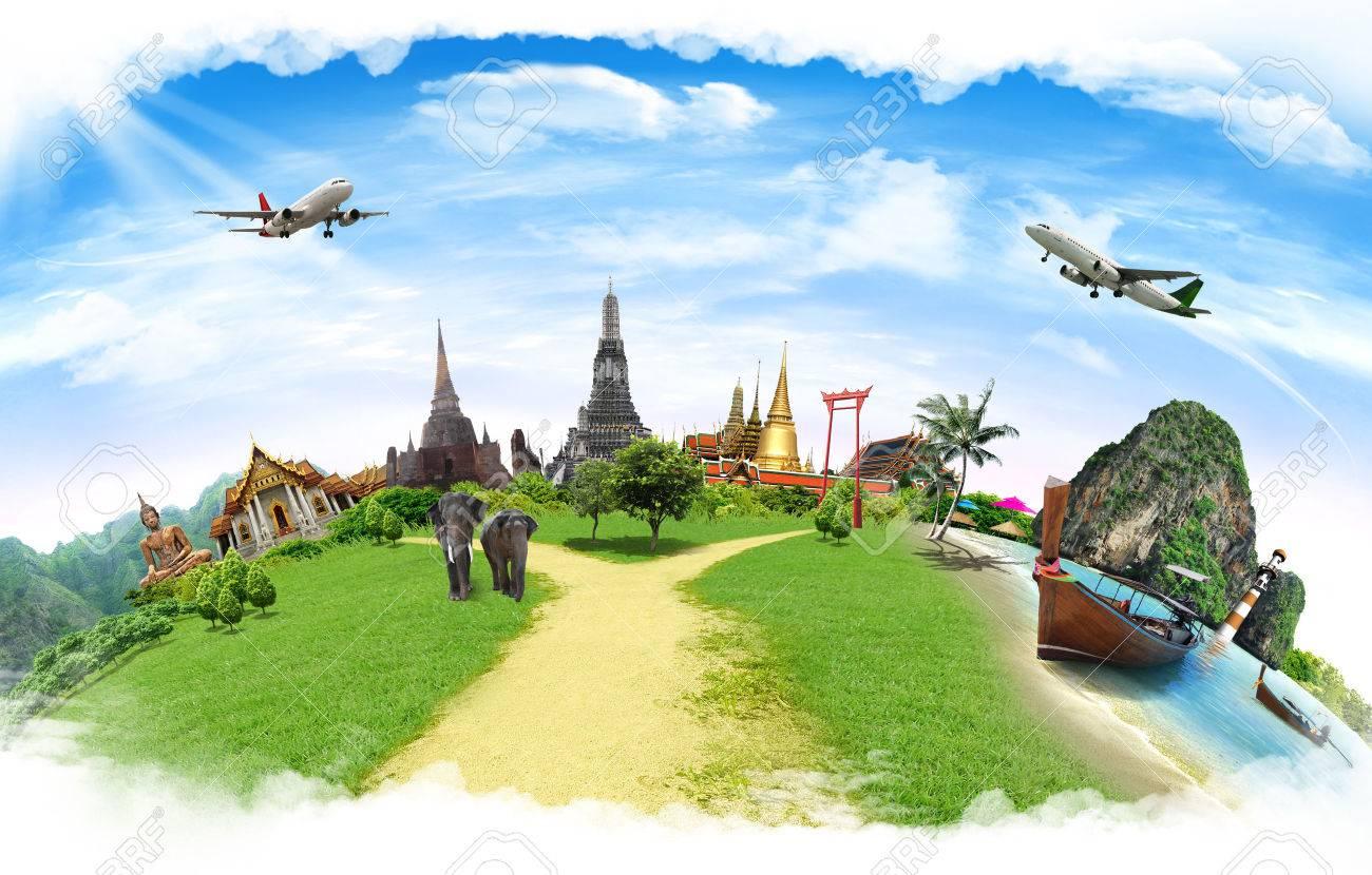 Travel concept, thailand - 36241088