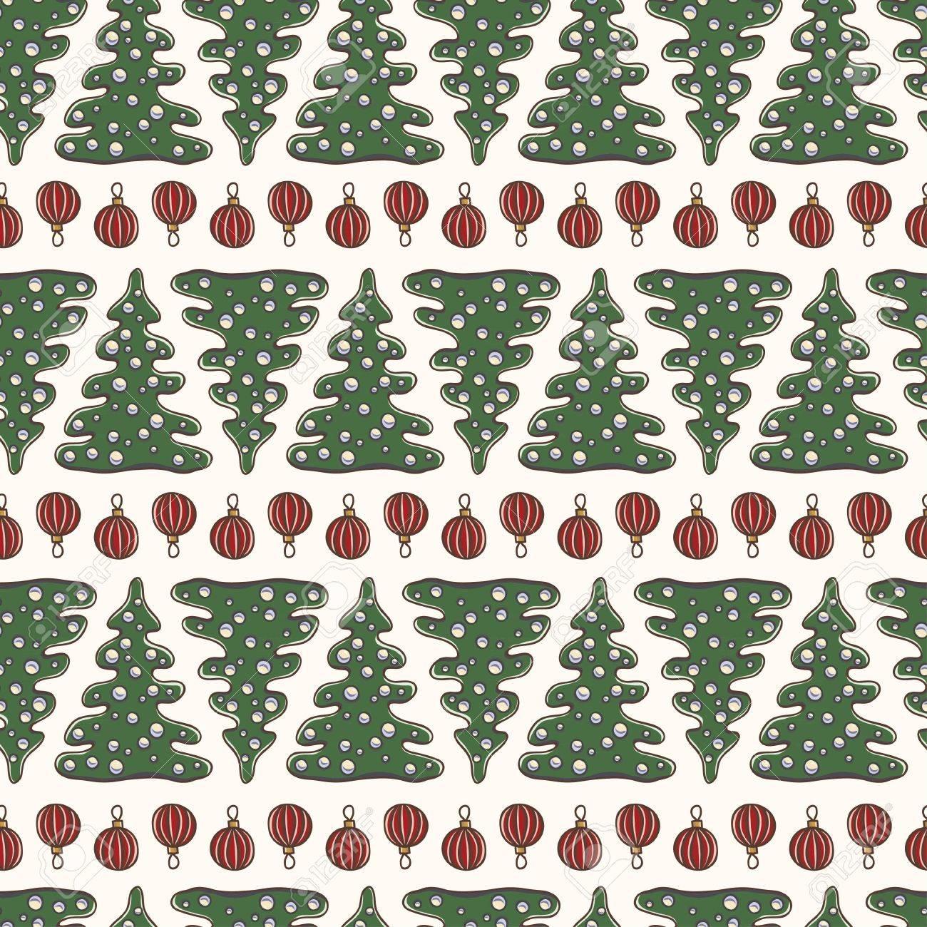 Tannenbaum Muster.Stock Photo