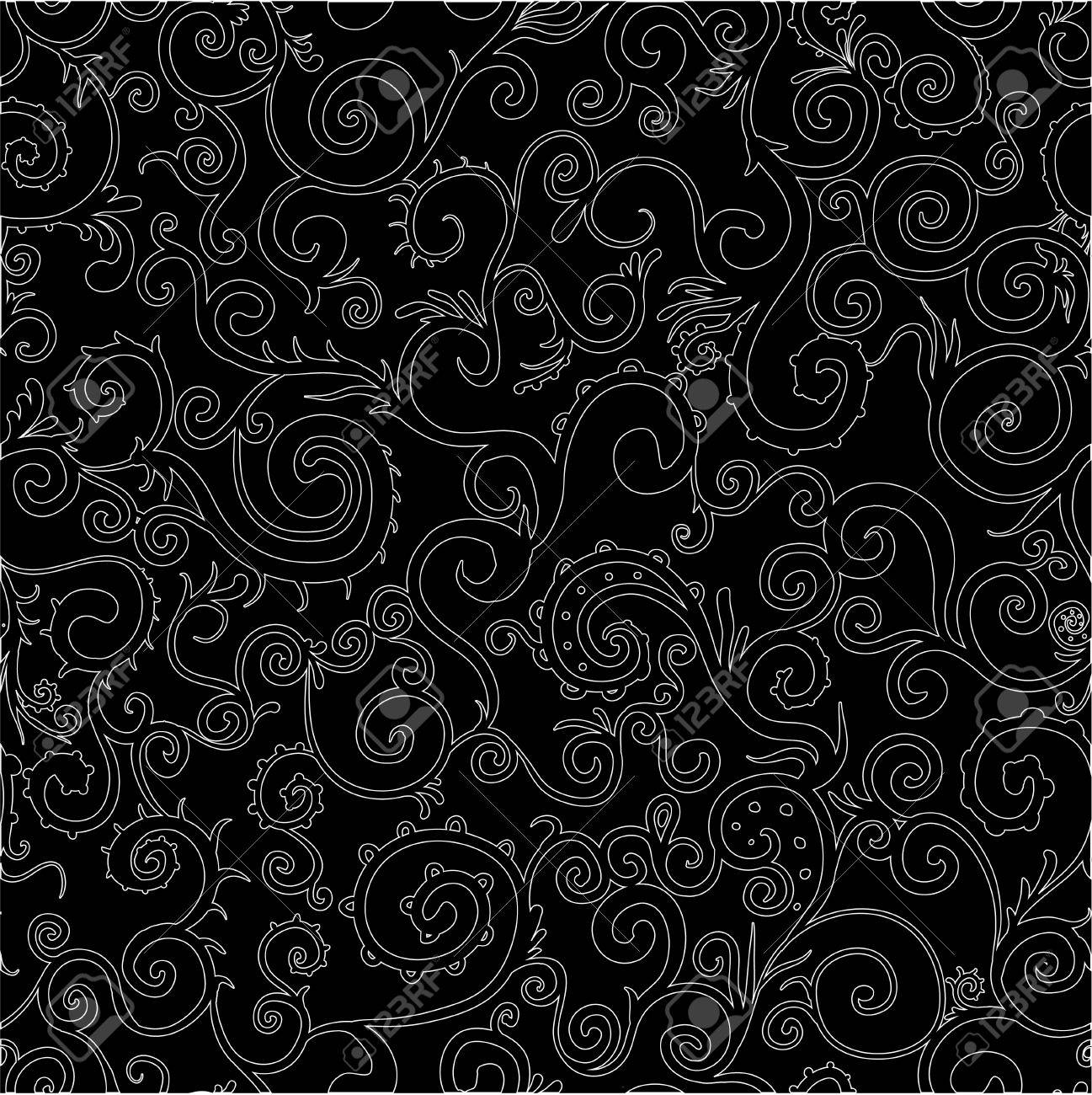 Seamless pattern can be used for textiles, wrapping paper, wallpaper, pattern fills, web page background, surface textures  Easy to edit Stock Vector - 18734829