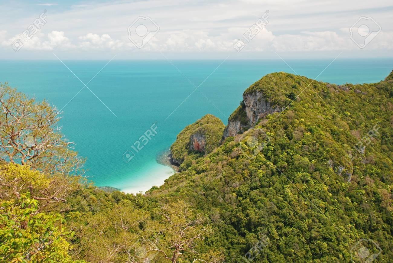 Tropical island in Ang Thong National Park, Thailand Stock Photo - 13684764