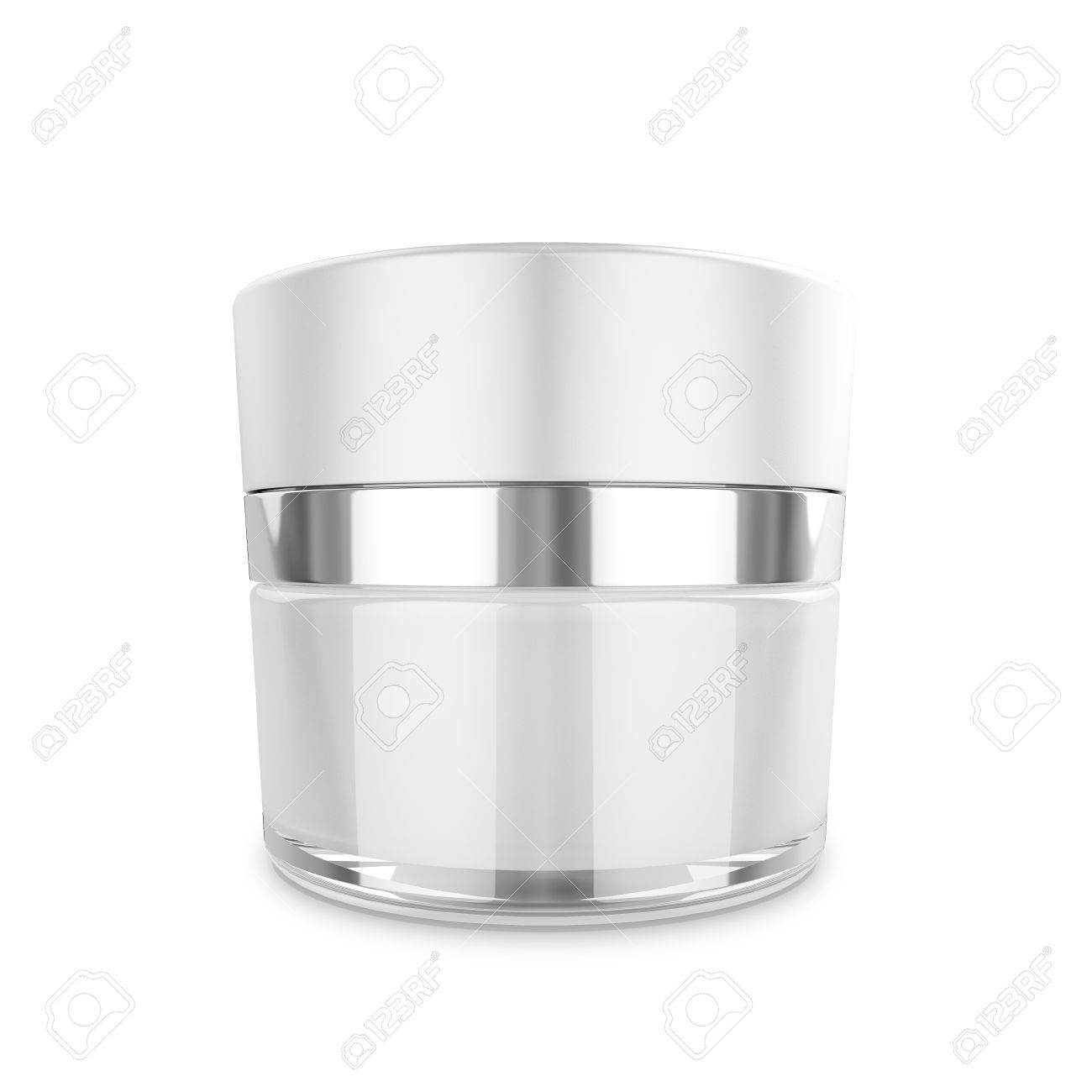 Cosmetic Packaging, Cream, Powder Or Gel Jar Template For Your ...