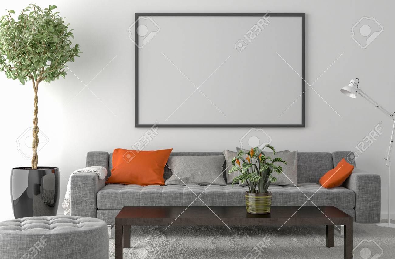 Fußboden Teppich ~ Teppich auf den fußboden ein sofa innen anlage und leeren