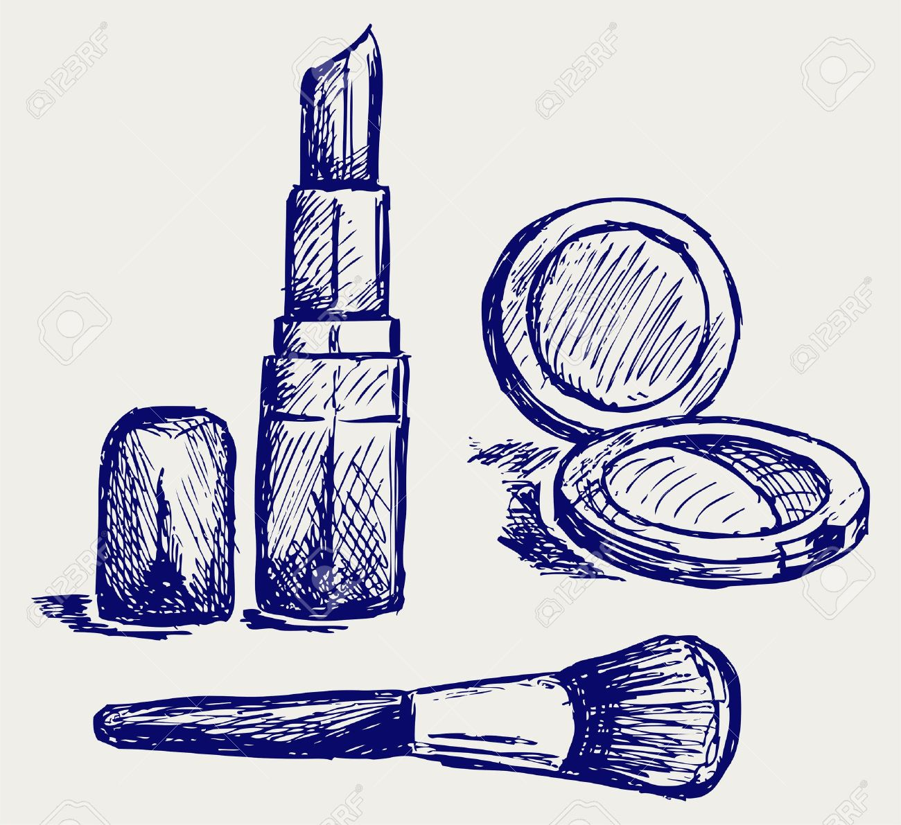 Cosmetics set, for fashion design - 15869053