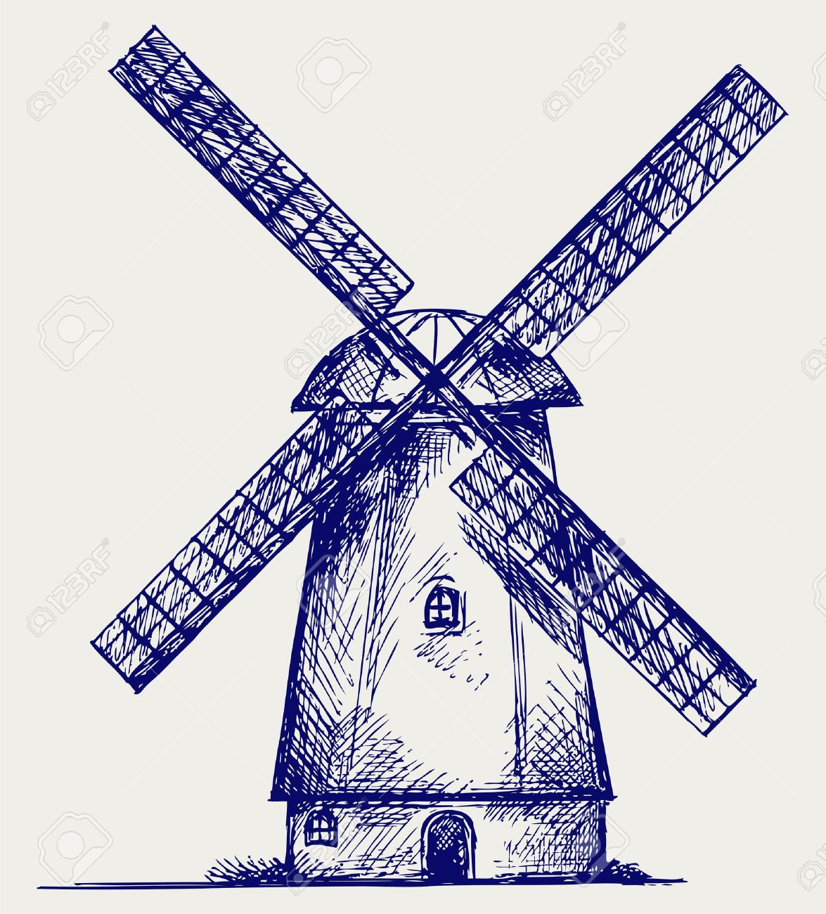 18,434 Windmills Stock Vector Illustration And Royalty Free ...