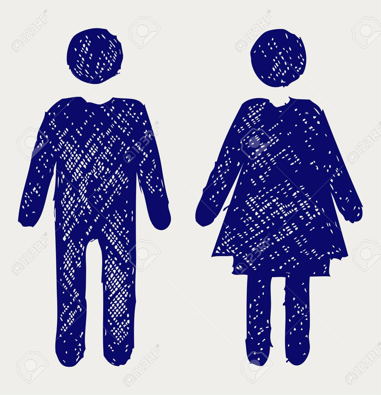 Bathroom Signs Holding Hands 6,559 bathroom gender sign cliparts, stock vector and royalty free