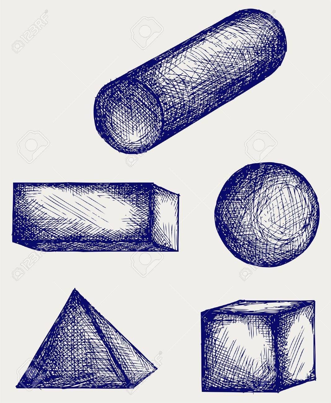 Geometry. Doodle style
