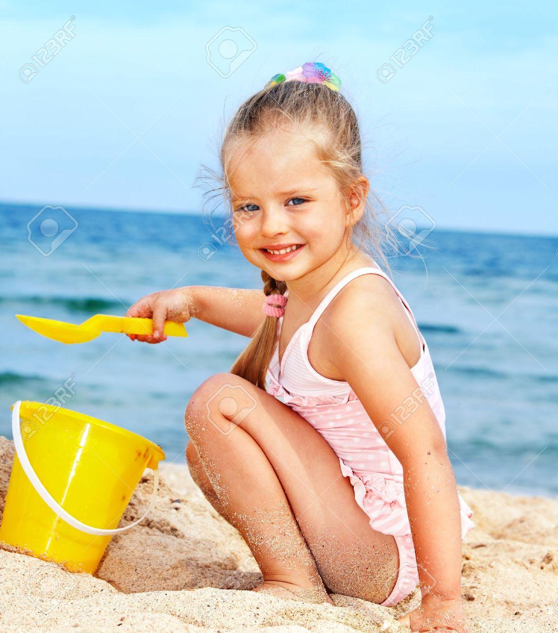 Красивые пляжные фото детей