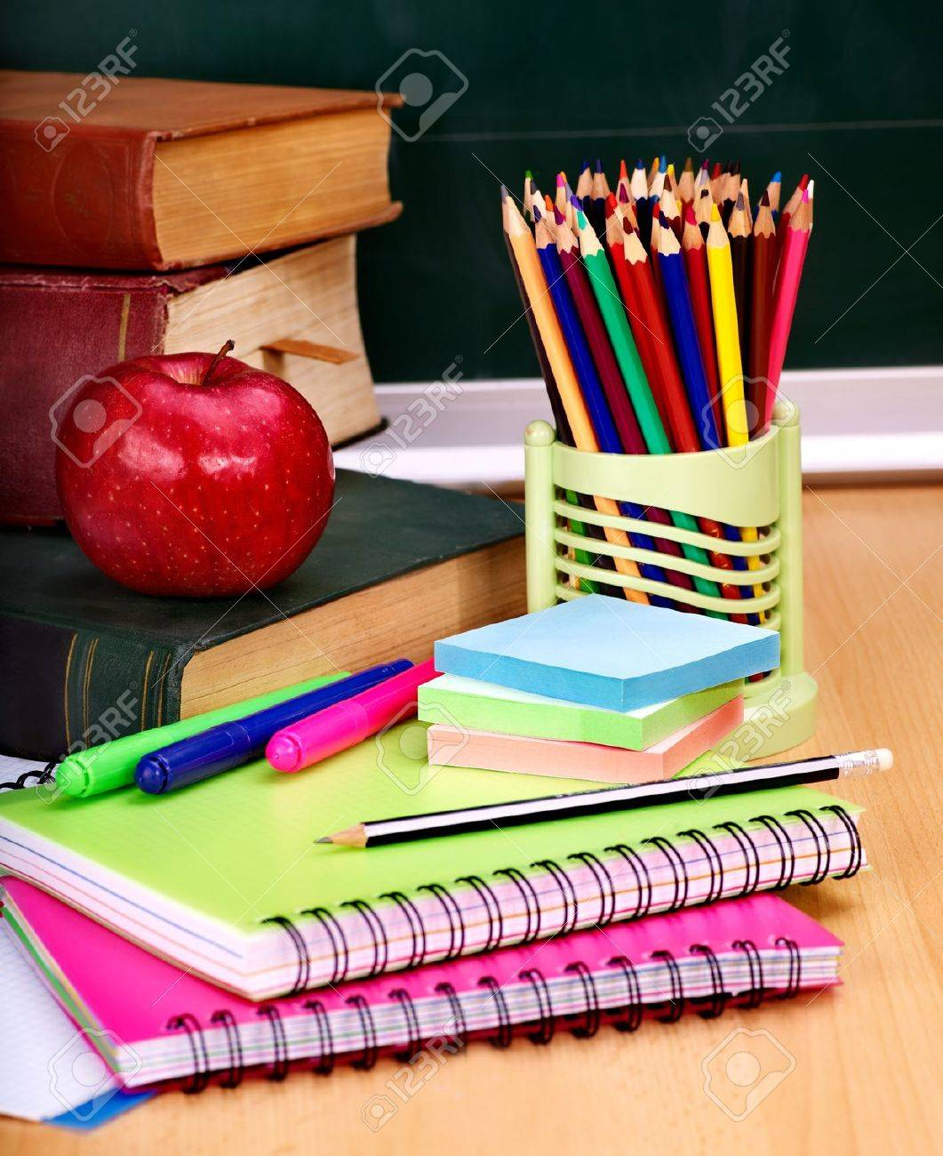 School supplies writing utensils stock photo picture and royalty school supplies writing utensils stock photo 10217368 voltagebd Images