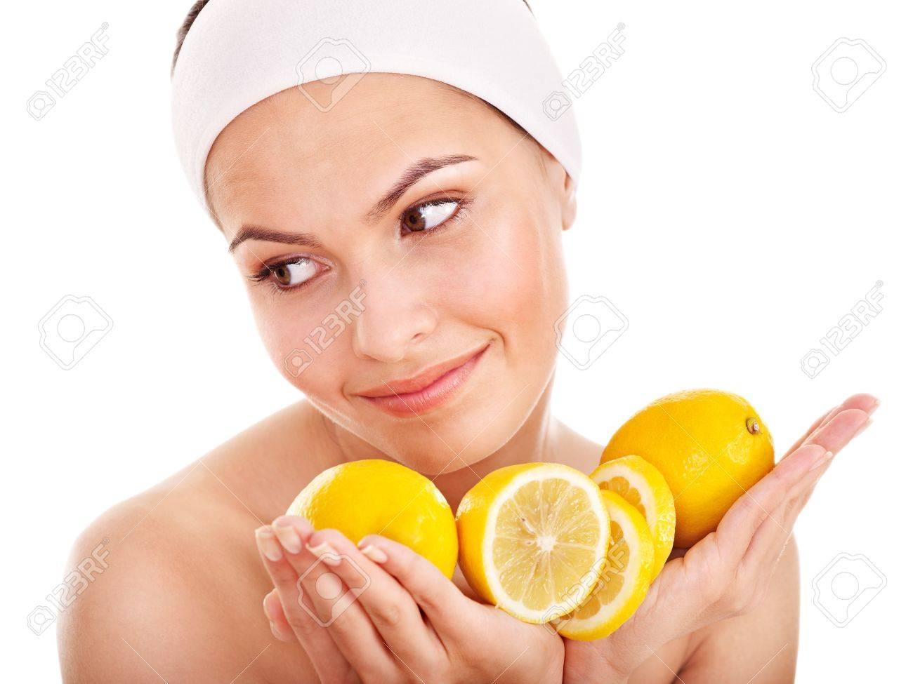 Natural homemade fruit facial masks . Isolated. - 11978556