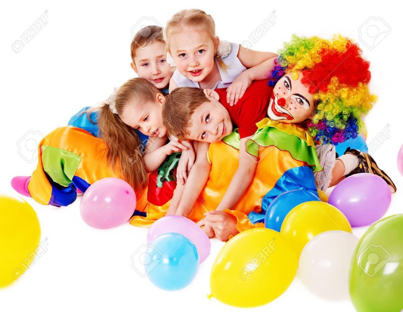 Child happy birthday party . Stock Photo - 13258628