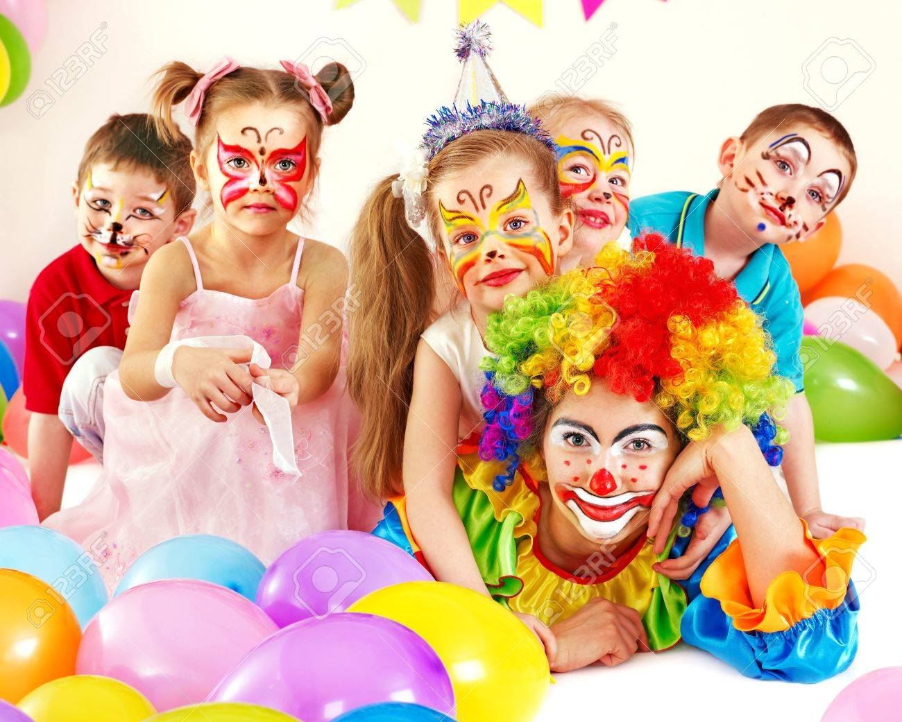 Child happy birthday party . Stock Photo - 13259075