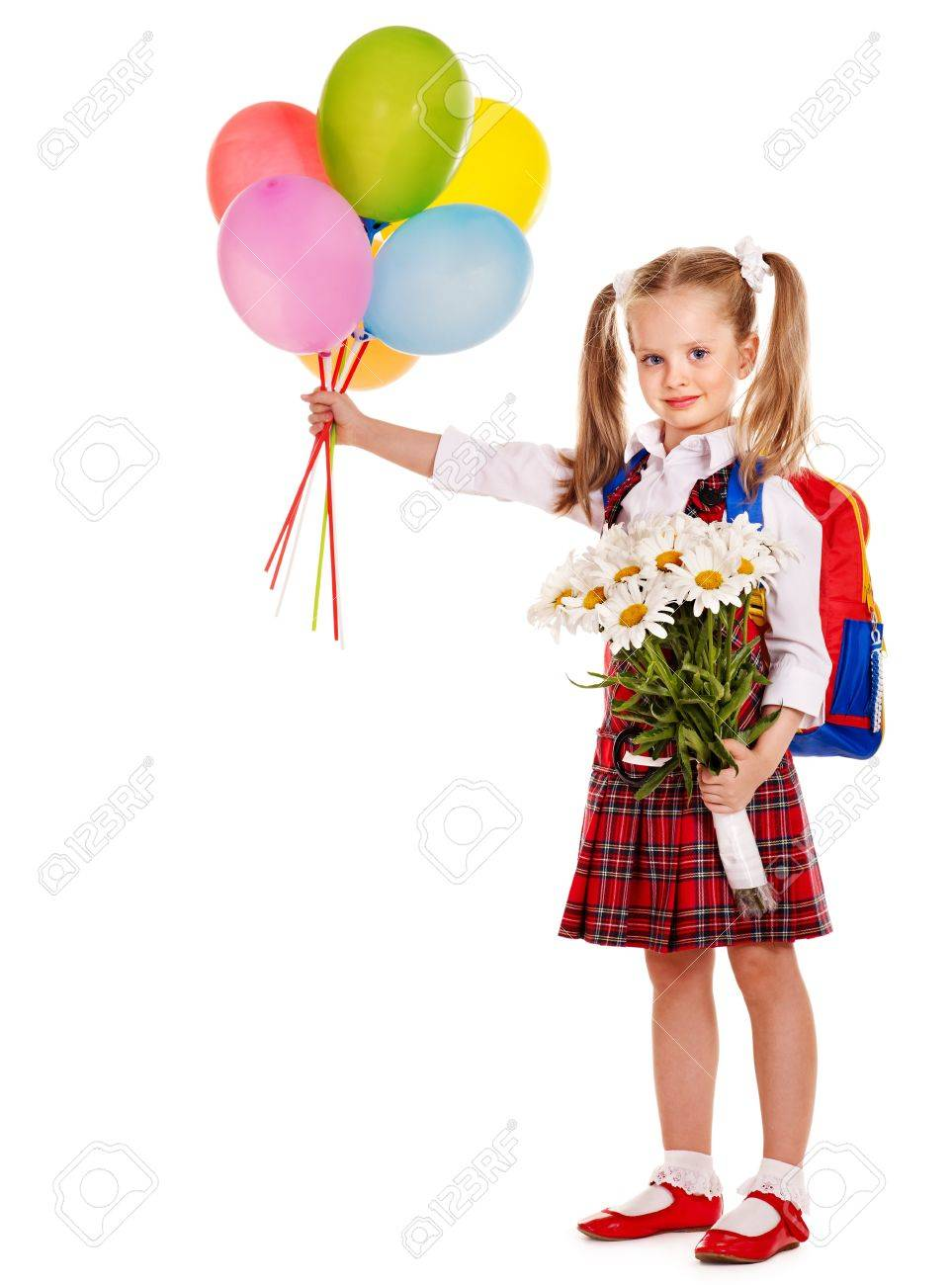 Child with backpack holding balloon. Isolated. Stock Photo - 14741754 9fcff3f5f1d9a