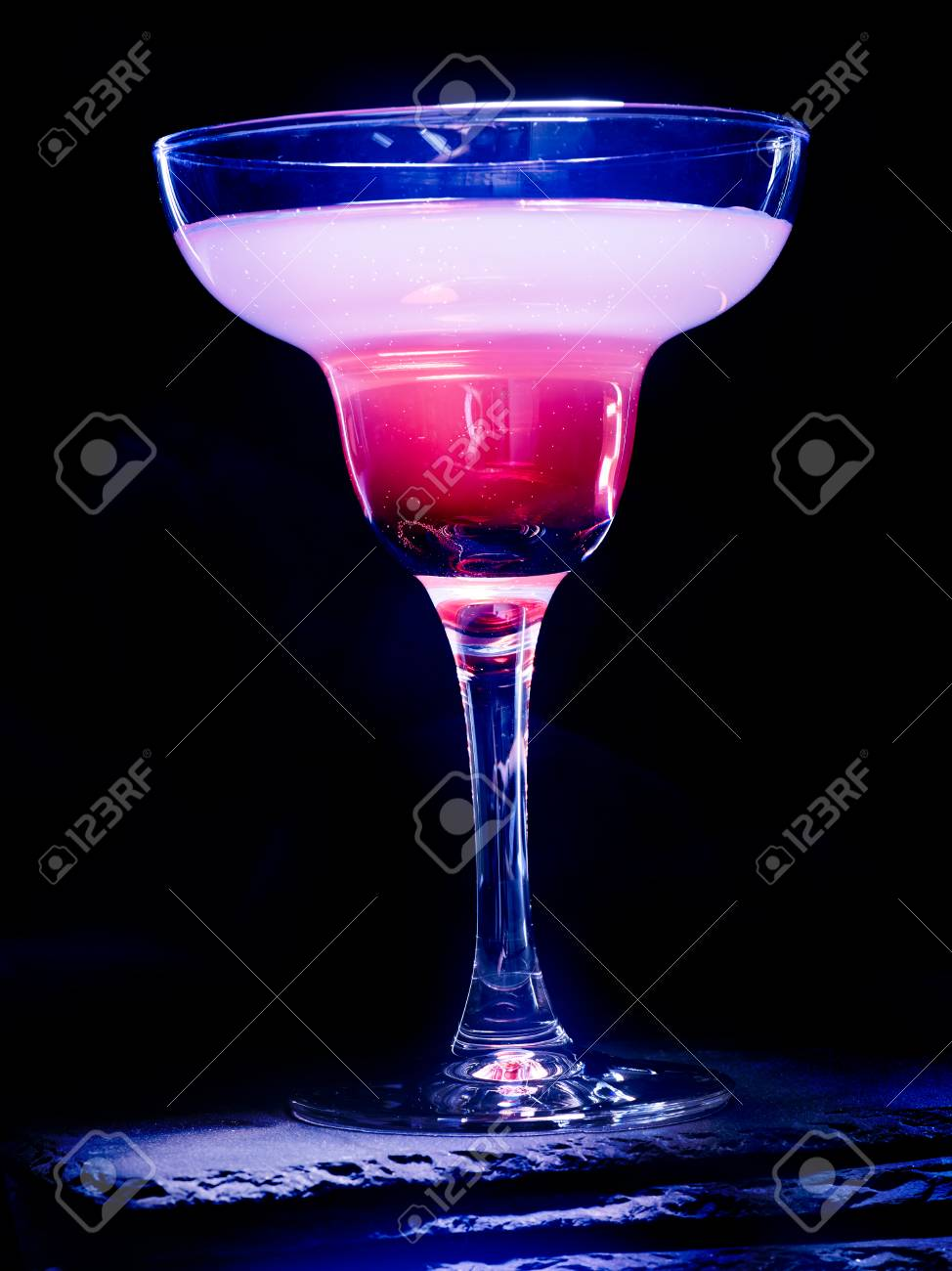 pomegranate cocktail on black background cocktail card 70 stock