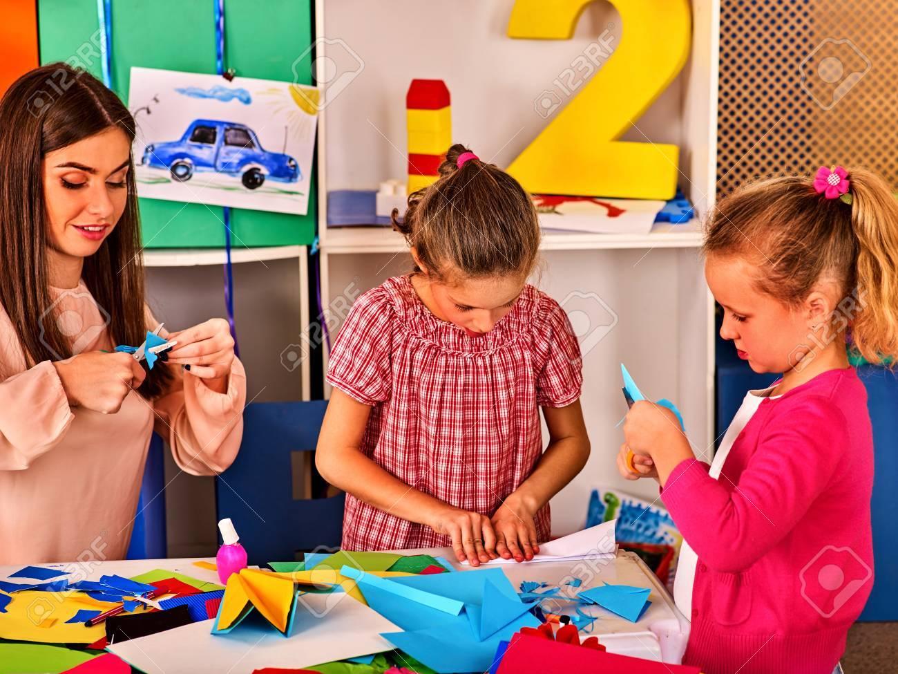 Paper Craft Work For Children Dreams Flight Of Child In