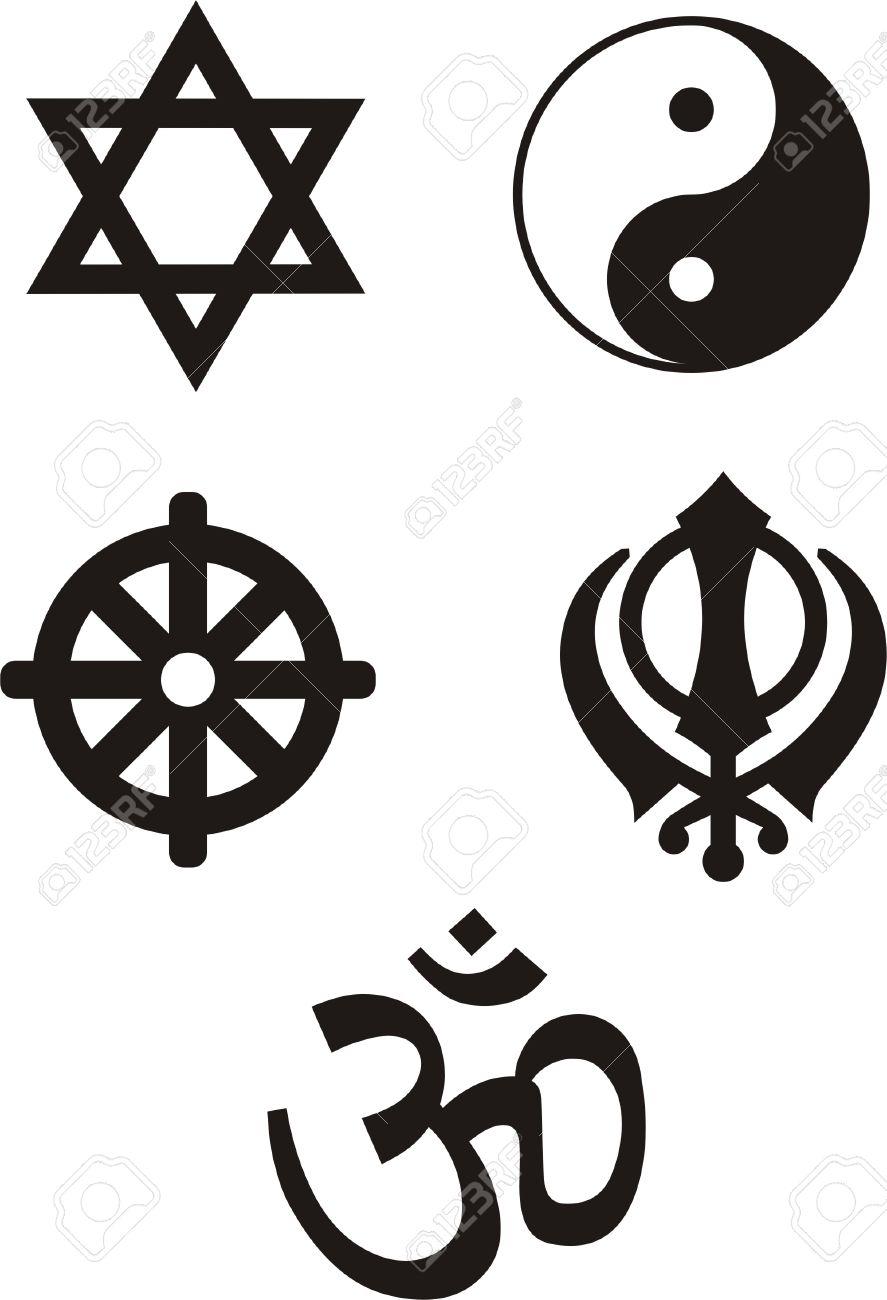 Religious symbols vector ilustration royalty free cliparts religious symbols vector ilustration stock vector 5700450 biocorpaavc Choice Image