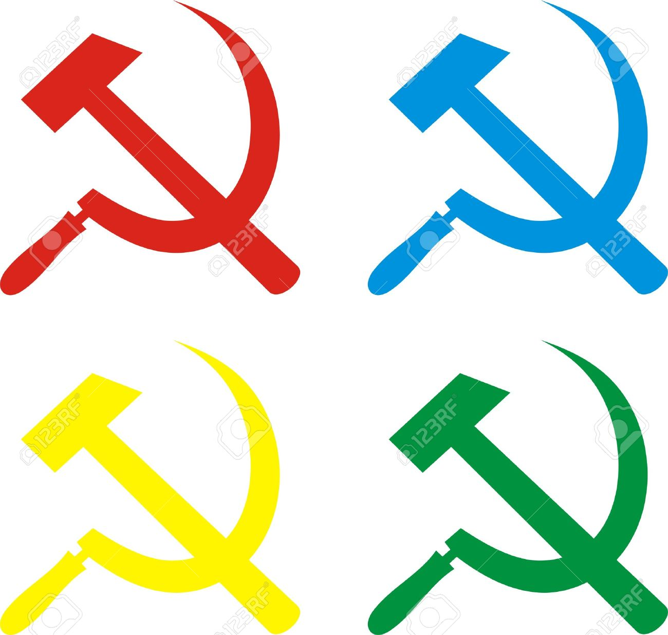 Vector set of communism sign hammer and sickle royalty free vector set of communism sign hammer and sickle stock vector 5804474 biocorpaavc Gallery